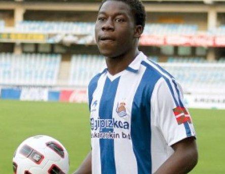 Sarpong set to leave Real Sociedad for NAC Breda