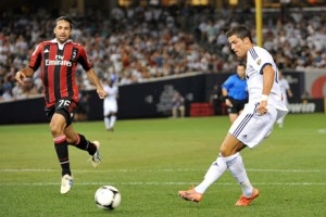 Video: Ronaldo scores a brace as Real Madrid rout Boateng's AC Milan 5-1
