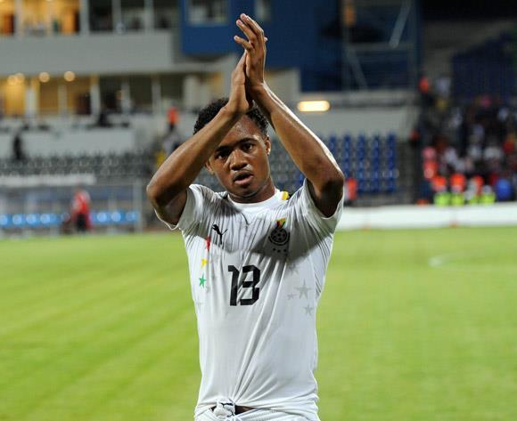 Ghana striker Jordan Ayew's Nice move collapses