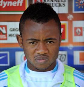 Ghana and Marseille striker Jordan Ayew to join Nice on Monday