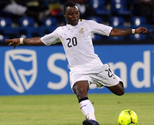Kwadwo Asamoah to arrive for Malawi qualifier tonight