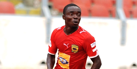 Kotoko midfielder Yeboah to miss season opener through injury