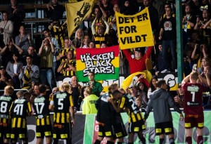 Some fans of Swedish side BK Hacken are calling for the side to be renamed Hacken Black Stars following the exploits of two Ghanaian players at the club.