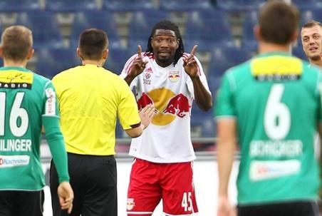 Isaac Vorsah escapes stiff punishment in Austria, banned for one match