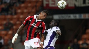 Struggling AC Milan will return to Serie A action on Wednesday night without their influential Ghanaian midfielder Kevin Prince Boateng.