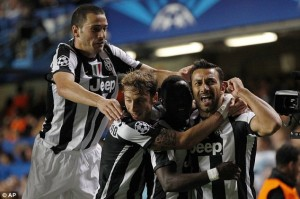 Juventus midfielder Kwadwo Asamoah showed his top-class status as he was among the players who excelled when they held Chelsea to a 2-2 draw in the Champions League on Wednesday.