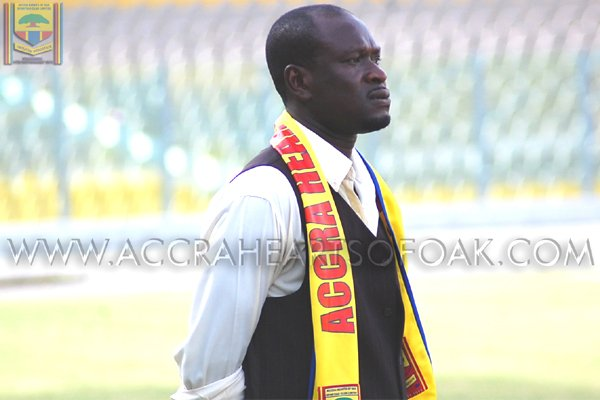 Ex Hearts chief Tamakloe backs Akunnor to end trophy drought