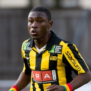 Hacken coach prefers Arsenal move for in-form Ghana striker Waris