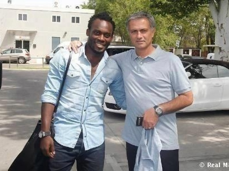 Essien reiterates happiness over reunion with Mourinho