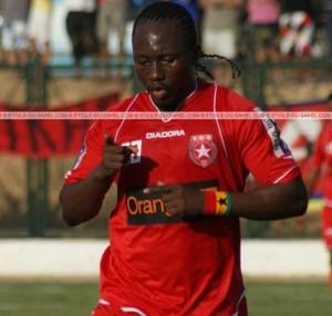 Striker Sadick Adams marks Berekum Chelsea debut