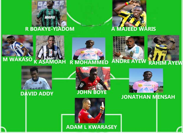 Ghanaians abroad: Team-of-the-week Oct. 5-7