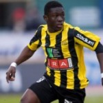 Video: Watch all the three goals scored by Ghana striker Waris in Sweden on Saturday