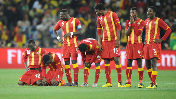 Ghana's 2014 World Cup campaign in danger after Zambia win protest