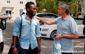 Video: Essien was on the verge of joining another club before Real Madrid deal - Mourinho