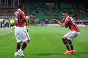Kevin Prince Boateng will be action for AC Milan when they take on Inter on Sunday