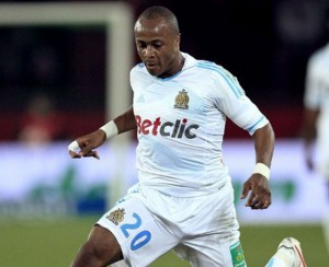 Black Stars winger Andre Ayew is the only Ghanaian player left in the ten-man shortlist for the 2012 African Footballer of the Year award after CAF pruned down the list late on Sunday.