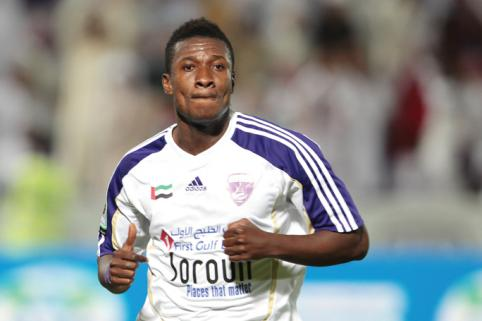 Asamoah Gyan extends 'insane' goalscoring run in the UAE