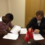 Waris signs five year deal with Spartak Moscow