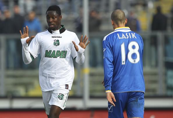 Video: Watch Richmond Boakye Yaidom's goal for Sassuolo