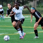 Florence Dadson's hat-trick secures title for Robert Morris University
