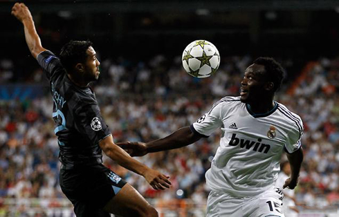 Essien sits out Madrid's trip to Manchester City