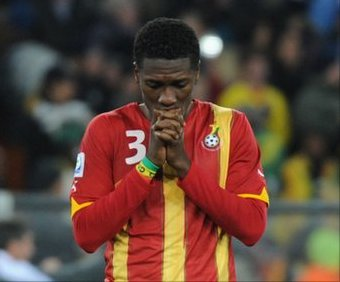 Ghana coach Appiah pledges support to grieving Gyan