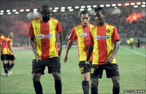 Harrison Afful and Esperance miss out on CAF Champions League trophy