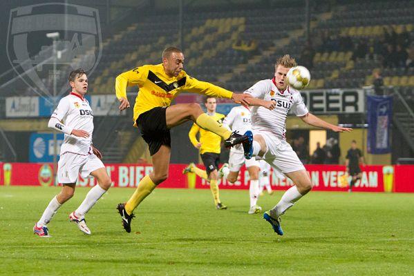 Striker Opoku scores for Veendam in Dutch second-tier