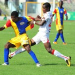 Slap-dash Kotoko held at home by Hearts