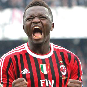 Ghana midfielder Muntari sits out Milan thrashing of Chievo