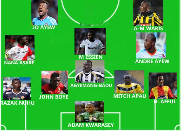 Ghanaian players abroad Team-of-the-Week: November 2-4