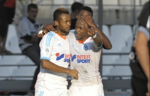 Watch video of Ghana players Andre Ayew and Jordan Ayew scoring for their French club Marseille this weekend to revive the fortunes of the club.