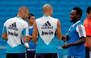 Injury worries grow for Michael Essien as Real Madrid star misses training