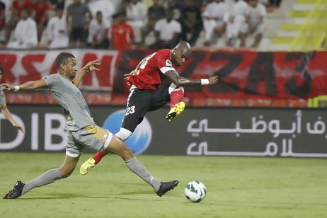 Al Ahli may have ambitions of taking the Pro League championship from Al Ain this season, but their Brazilian striker Grafite has eyes for Asamoah Gyan's goalking crown.