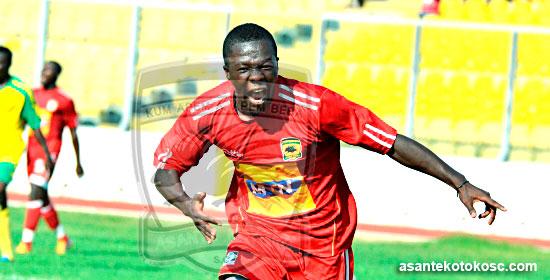 Kotoko captain Nti Boakye not concerned by lack of goals