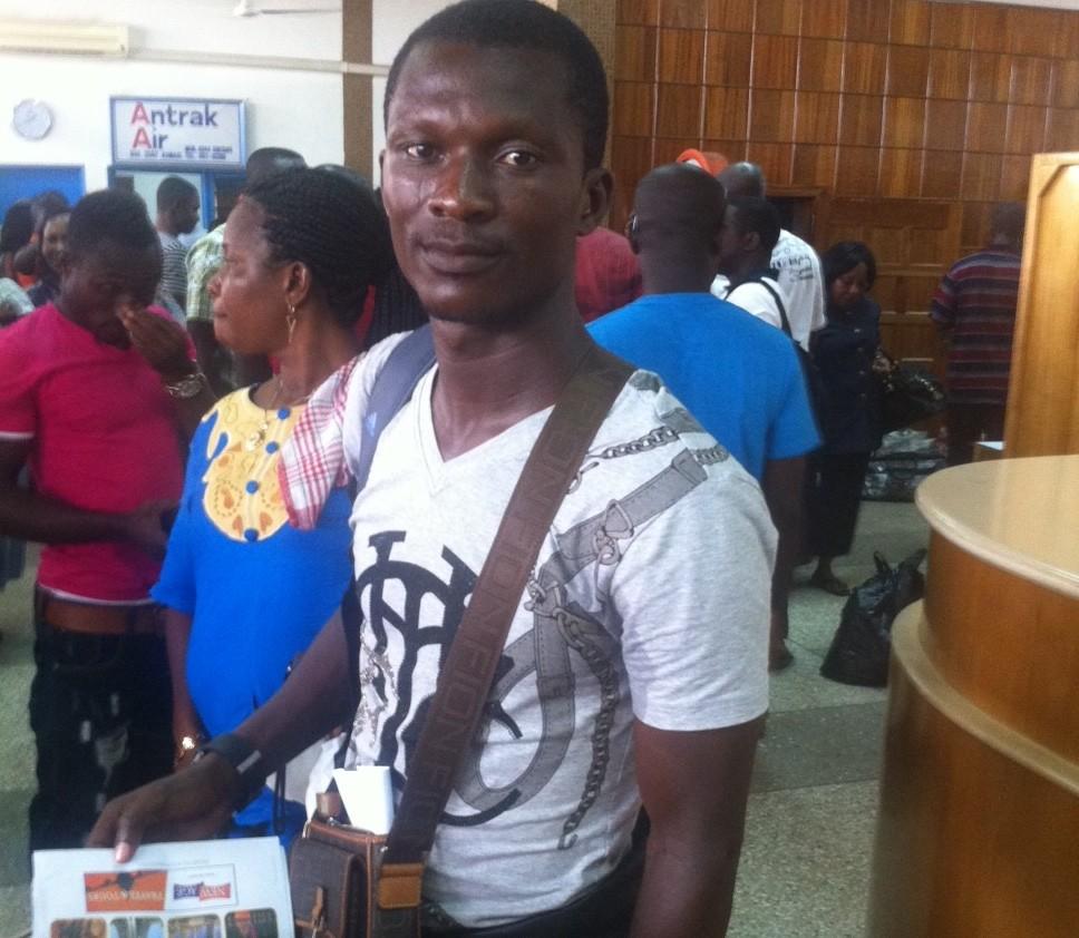 Kotoko midfielder Nii Adjei leaves for TP Mazembe expedition