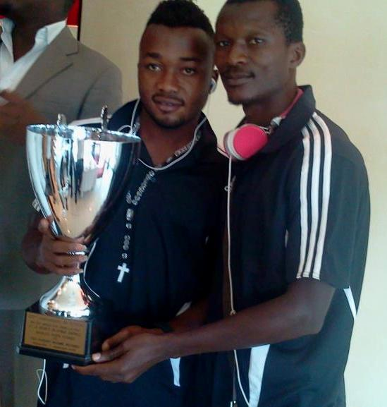 Nii Adjei, Awako win first trophy with TP Mazembe
