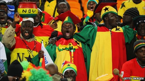 Ghanaian supporters obtain visas to support Black Stars at 2013 AFCON