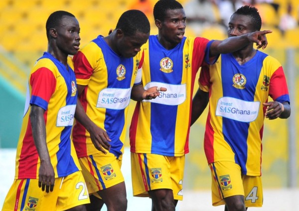 Striker Mahatma Otoo pledges future to Hearts