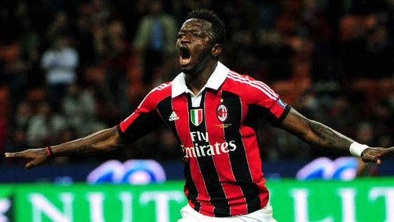 Muntari makes Milan return on day he was axed from Ghana's AFCON squad