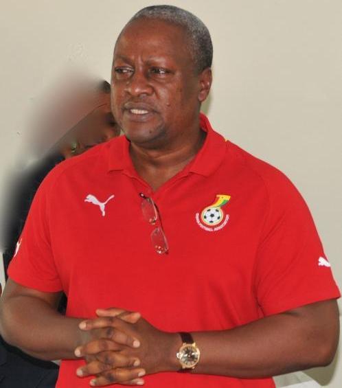 Ghana captain Gyan hails President-elect John Mahama