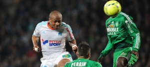 Ghana winger Andre Ayew scored a cracking goal in Marseille's win over St Etienne. Watch video of the goal