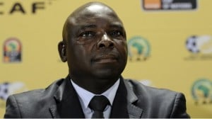 South African Football Association president Kirsten Nematandani and four other leading officials have been suspended in the wake of a report by football's world governing body, Fifa, into a match-fixing scandal.