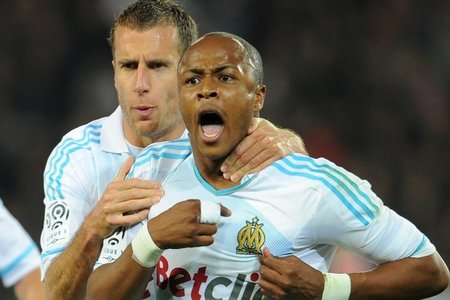 Andre Ayew hands Marseille vital win at Brest