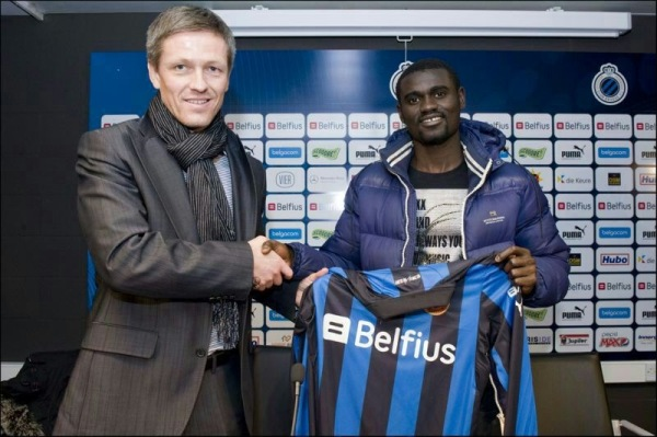 Ghanaian midfielder Adu Kofi seals Club Brugge move