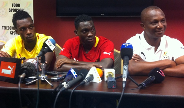 Ghana now at 70 percent - Coach Appiah
