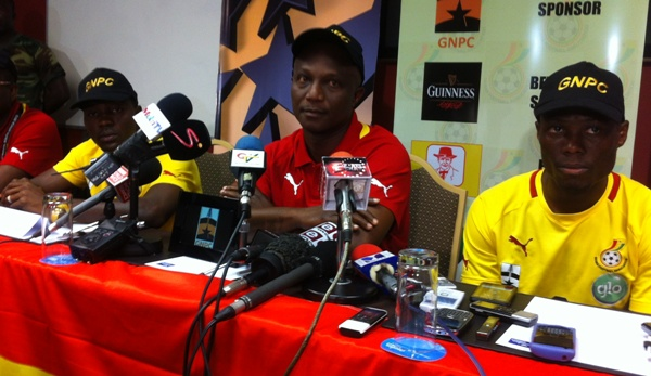 Video: Ghana coach considering varying tactics against Mali