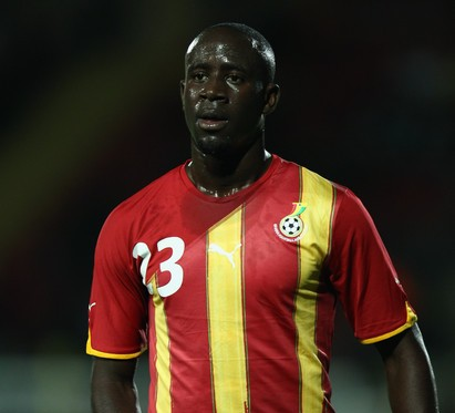 Honoured Adomah not pressured with wearing Ghana no.10 shirt