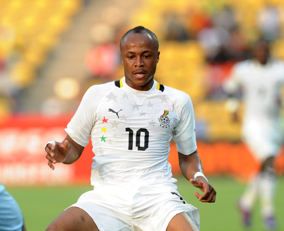 Marseille release crocked Andre Ayew for 2013 AFCON