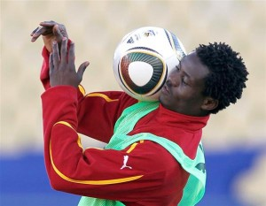 Annan, Vorsah return to light training to ease Ghana's injury woes